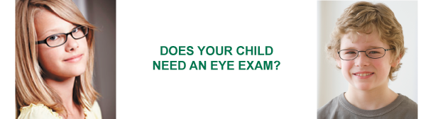 Does your child need an eye exam